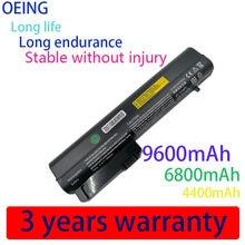 Bateria do portátil HSTNN-DB22 HSTNN-XB22 para hp para elitebook 2530p 2540p para o caderno de negócios 2400 2510p nc2400