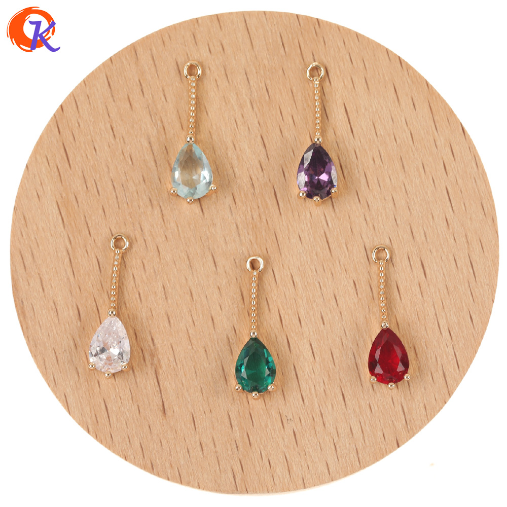 Earring-Findings/cz-Pendant Cordial-Design 100pcs 5--18mm