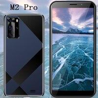 Teléfono Inteligente M2 Pro, 64 GB de ROM, pantalla de 5,5 pulgadas, cámara de 13,0mp, 4 GB de RAM, 64 GB de ROM, android, identificación facial, desbloqueado