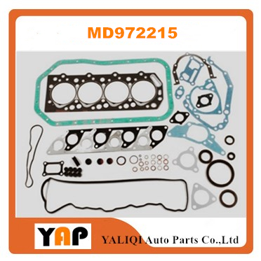 4D55 4D55T Overhaul full Gasket Kit For Mitsubishi engine Galant Pjero L300 L200