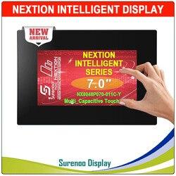 7.0 NX8048P070 Nextion ذكي HMI UART المسلسل TFT وحدة عرض LCD لوحة مقاوم أو Capactive شاشة لمس لوحة الضميمة