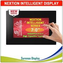 """7.0 """"NX8048P070 Nextion inteligentny HMI szeregowy UART moduł TFT LCD Panel wyświetlacza oporowy lub pojemnościowy Panel dotykowy obudowa"""