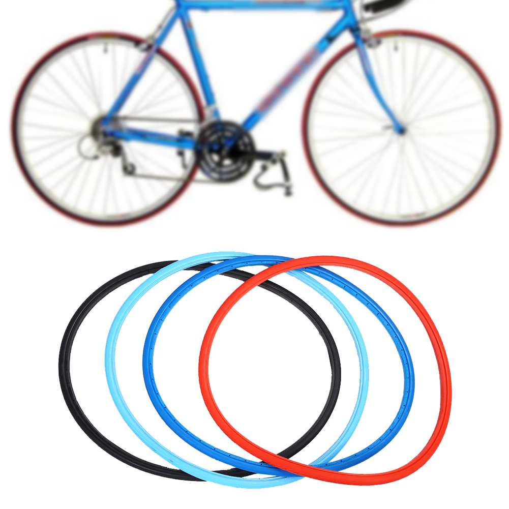 Bike Solid Tire 700x23C Road Bike Bicycle Cycling Riding Tubeless Tyre Wheel
