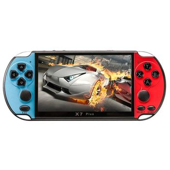 """10pc 32/64/128 Bit 5"""" LCD X97 plus Double rocker 8G Handheld Retro Game Console Video MP5 TF Card for 10000 games Can save games"""