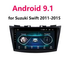 Android 9 1 2Din samochodowy odtwarzacz dvd GPS odtwarzacz nawigacyjny BT WIFI radio samochodowe stereo 9 cal dla Suzuki SWIFT 2011 2012 2013 2014 2015 tanie tanio YILUZHE Double Din 4x45w Jpeg ABS+ Metal 1024x600 1 9kg Bluetooth Wbudowany gps Telefon komórkowy Odtwarzacze mp3 Tuner radiowy