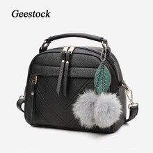 Women Handbags Crossbody-Bag Totes Belt-Strap Fashion Ladies with PU Adjustable Geestock