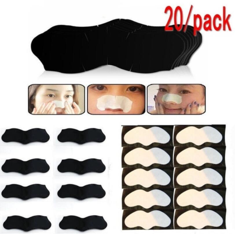 10 20 50pcs Nose Blackhead Remover Mask Pore Cleaner Acne Treatment Mask Deep Nose Pore Cleasing