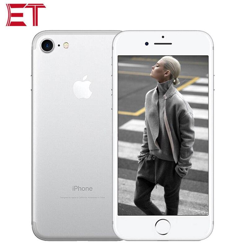 "Original Apple iPhone 7 A1778 T-Mobile Version LTE Mobiel Telefon 4,7 ""2 GB RAM 32 GB/ 128GB ROM A10 1960mAh 12MP NFC iOS Smart telefon"