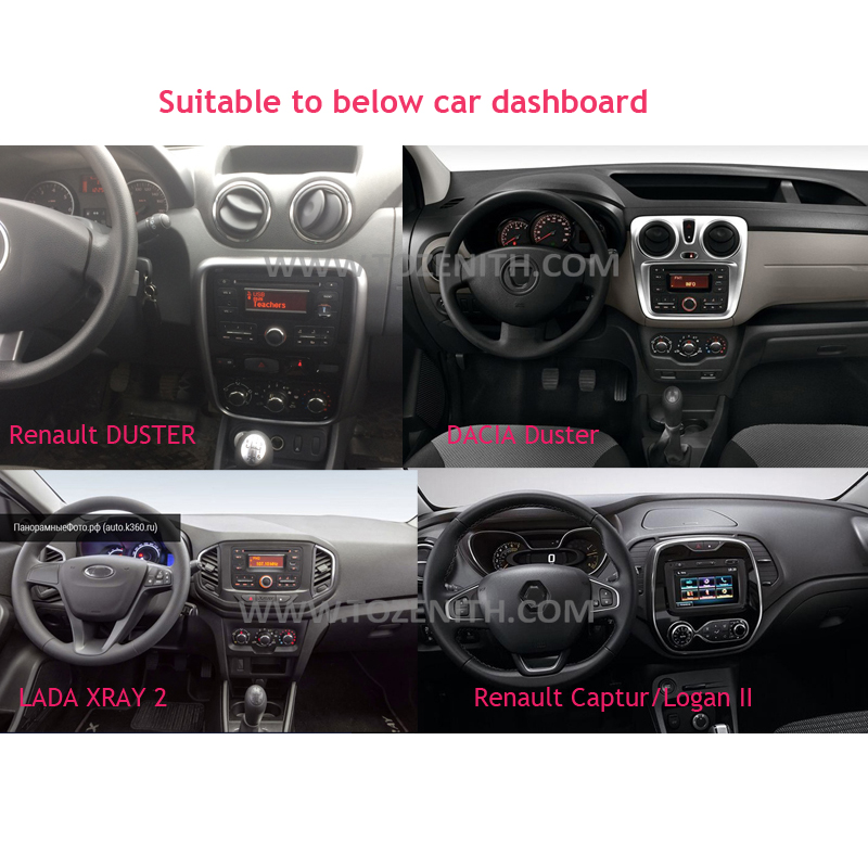 Image 2 - SilverStrong Car Multimedia player Android 9 Automotivo radio For Dacia Sandero Duster Renault Captur Lada Xray 2 Logan-in Car Multimedia Player from Automobiles & Motorcycles