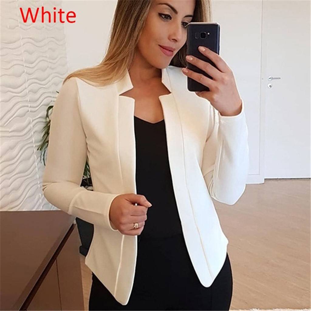KANCOOLD Coats Womens Ladies Cardigan Solid Long Sleeve Pocket Outerwear Trench Fashion New Coats And Jackets Women 2019Sep30