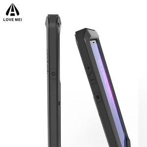 Image 4 - กรณีสำหรับ Samsung Galaxy หมายเหตุ 8 9 3 LOVE Mei เกราะโลหะอลูมิเนียมกันกระแทกสำหรับ Samsung Note 9 4/Edge/FE