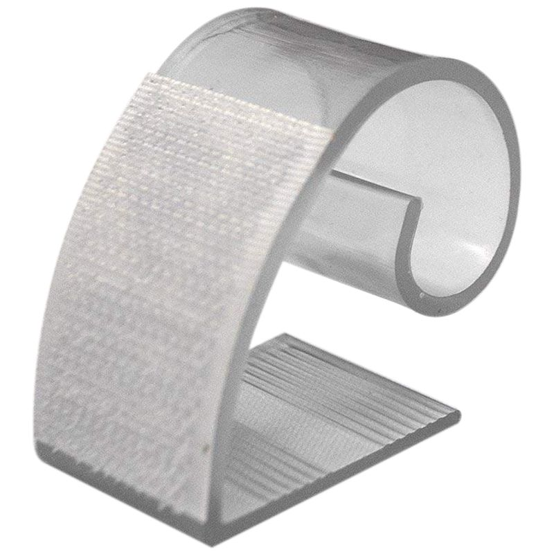 Clear Table Skirting Clips (MC) For 3/4in To 1 And 1/2in Table Edge - 25 Pack