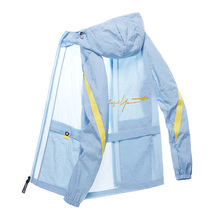 Jacket Golf-Fashion Men Sun-Protection Ice-Silk Outdoor Breathable All-Match Men's Summer