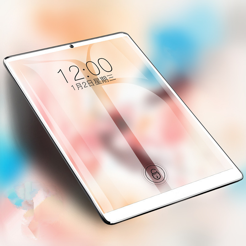 10.1 Inch IPS 1280*800 Tablet 3G 4G LTE Dual SIM Card Tablet PC Octa Core 4GB RAM 64GB ROM Tablets Android 7.0 Bluetooth GPS