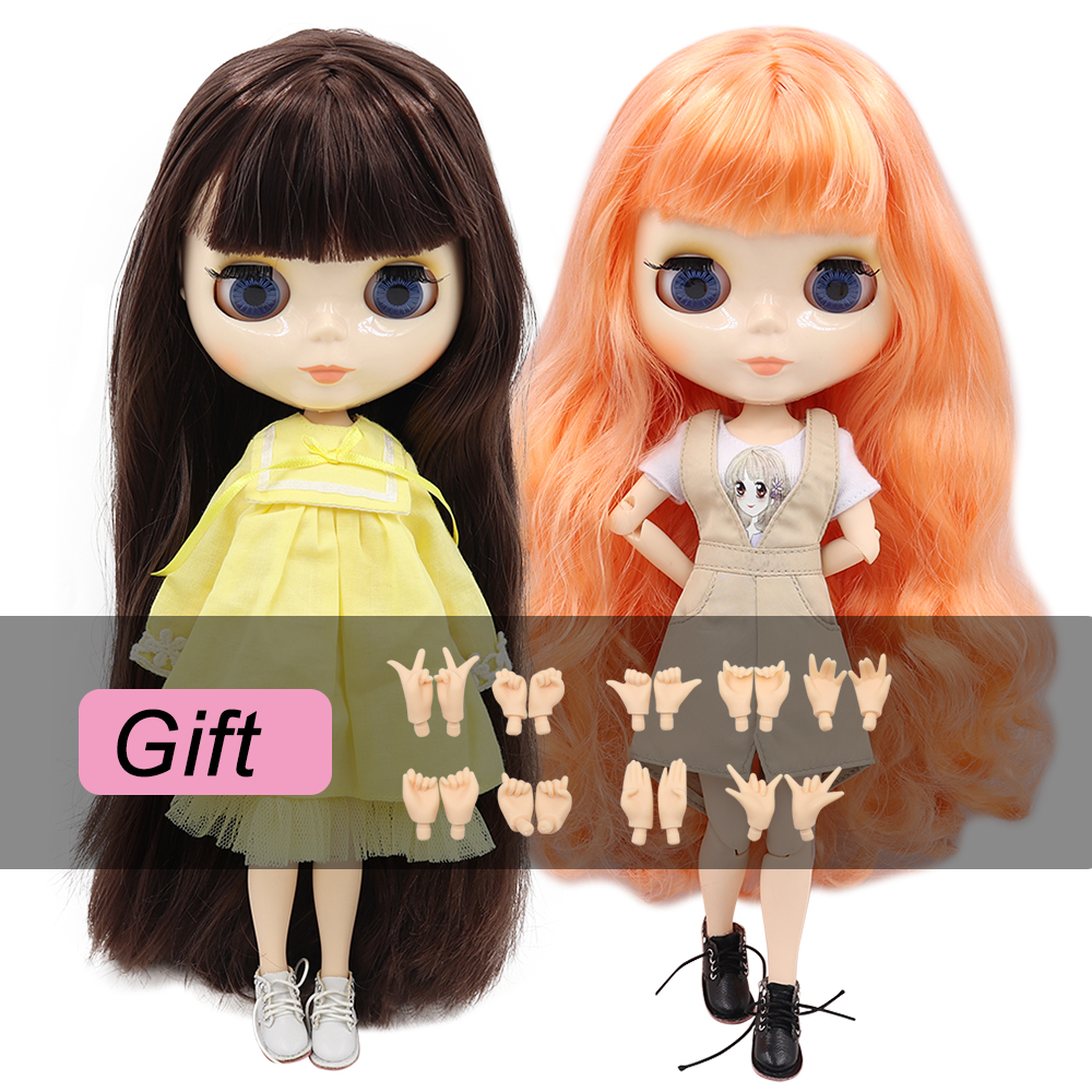 ICY factory blyth doll bjd toy joint body white skin shiny face 30cm 1/6 on sale special offer(China)