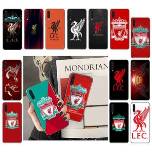 YJYDNHBD Liverpool FC Luxury Phone Case For Samsung Galaxy A7 A50 51 A70 80 A40 A20 A30 A8 A6 A8 Plus A9 A71