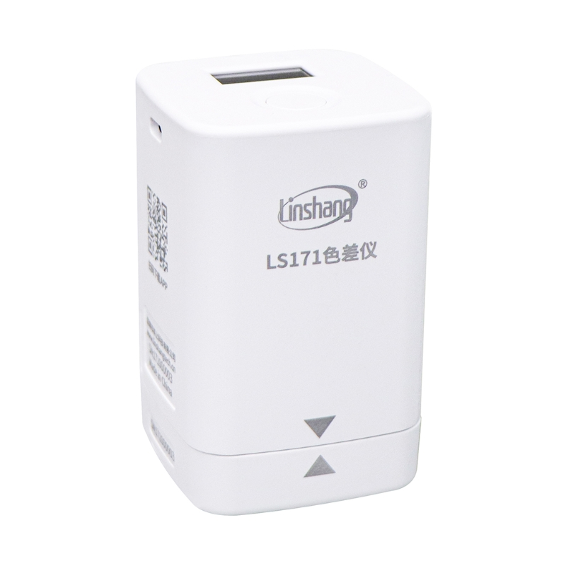 LS171 Mobile Phone APP Portable Colorimeter Color analyzer with Screen Digital Precise LAB Color Meter Tester 8mm