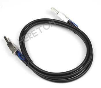 200CM External Mini SAS SFF-8088 26P to SFF-8088 mini sas 26P Cable 2m for Server фото