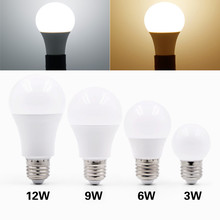E27 Led Bulb Light 220V 230V 240V Energy Saving Led Lamp 3W 6W 9W 12W 15W 18W 20W White 6500k Warm White 3000k Bubble Ball Bulb