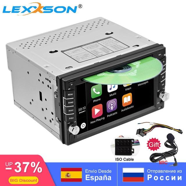 2DIN سيارة مشغل ديفيدي راديو لتحديد المواقع بلوتوث Carplay أندرويد السيارات ل X TRAIL قاشقاي x درب juke لنيسان SWC FM AM USB/SD