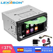 2DIN araba DVD OYNATICI radyo GPS Bluetooth Carplay Android otomatik X TRAIL Qashqai x trail juke nissan SWC FM AM USB/SD