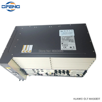 Huawei MA5683T 10G OLT with 2xSCUN control board + 2xPRTE power board 100% mew Fttb/Fttc/Ftth GPON EPON Optical line terminal