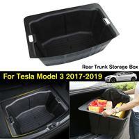 Auto Car Modification Trunk Storage Box Storage Box Compartment Storage Box For Tesla Model 3 2017 2019