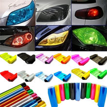 40*200cm Car Auto Sticker Light HeadLight Taillight Tint Vinyl Film Styling Waterproof Protective Film Decal Car Accessories