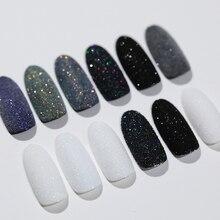 1 коробка, блестящий порошок для ногтей, сахарный эффект Starlight, хром, ультратонкий блеск, сделай сам, пигмент для ногтей, порошок, пыль