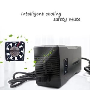 Image 4 - YZPOWER 58.4 v 3A 3.5A 4A אינטליגנטי LifePO4 סוללה מטען עבור 16 s 48 v Lifepo4 סוללה