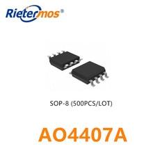 500 pièces AO4407 AO4407A SOP8 fabriquées en CNINA