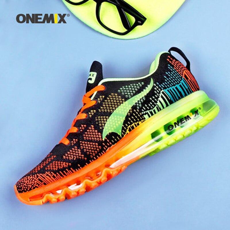 Onemix мужчины женщины воздуха кроссовки для мужчин супер свет макс марка женщины спорт кроссовки воздухопроницаемой сеткой athletic открытый обуви