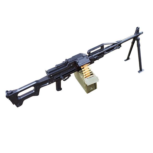 16 assemblage pistolet modèle quatrième génération 1/6 fusil dassaut lumière mitrailleuse AK47 soldat arme en plastique assemblage garçon jouets