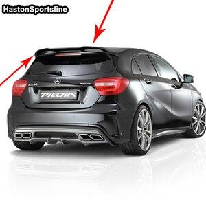 Image 3 - Pour Mercedes A classe A45 AMG W176 FRP aileron de toit arrière A180 A200 A220 A250 A260 aile de toit arrière 2013 2017