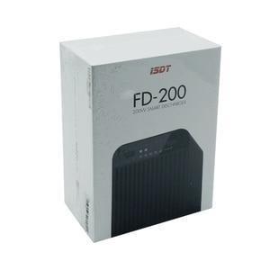 Image 5 - ISDT FD 200 200W 25A 지원 2 8S Lipo 배터리 무선 APP 제어 방전기 RC 드론 예비 부품 RC 작은 선물 현재 장난감