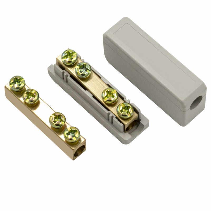 10 כיכר מהיר חיבור מלחץ מסוף נחושת ואלומיניום משותף מעבר מהדק טור גבוה-כוח כן משותף חוט מחבר