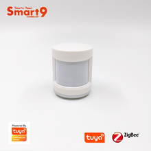 Smart9 ZigBee PIR Sensor Motion Detector working with TuYa ZigBee Hub, Human Body Movement Detect, Powered by TuYa