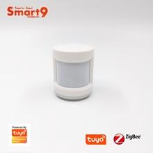 Smart9 zigbee pir 센서 모션 탐지기 tuya zigbee hub, 인체 운동 감지, tuya에 의해 구동