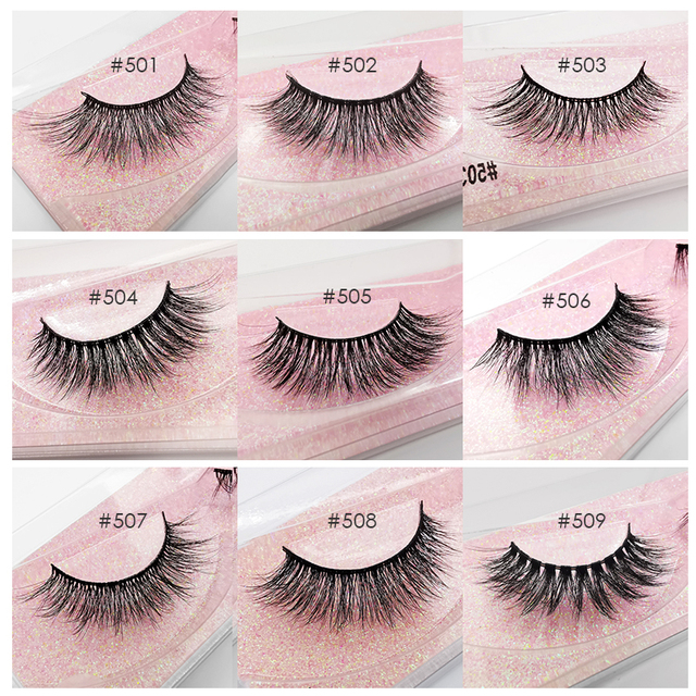 SHIDISHANGPIN Wholesale Eyelashes 3d Mink Lashes Natural Mink Eyelashes Wholesale False Eyelashes Makeup False Lashes In Bulk 4