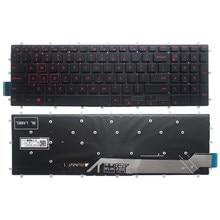 Novo portátil eua teclado com retroiluminado para dell inspiron 7567 7566 7577 7587 7570 7580 teclado do portátil