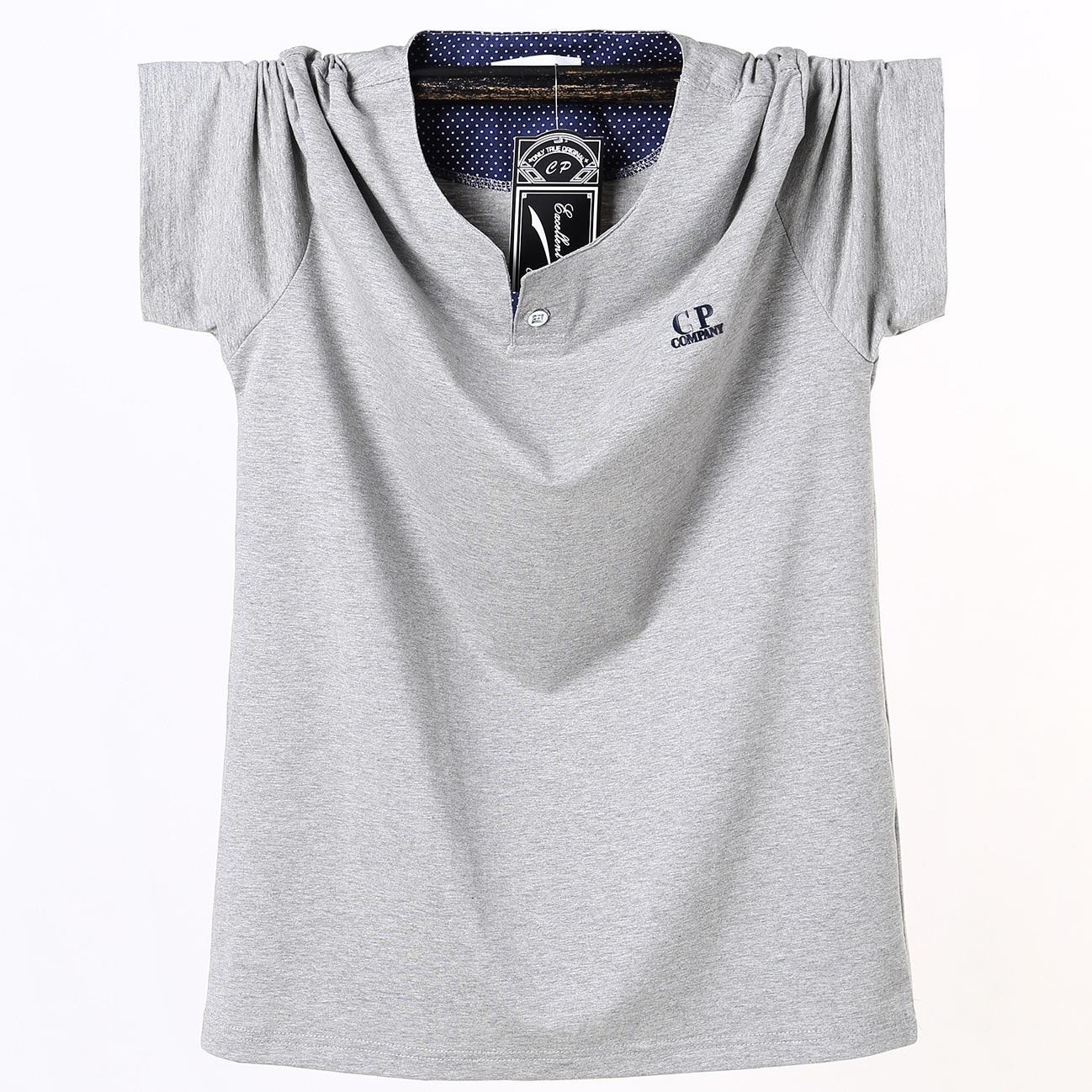 CP Plus-sized Short Sleeve T-shirt Men'S Wear Loose-Fit Lard-bucket Sports Fat Half Sleeve Extra Large MEN'S T-shirt 8335