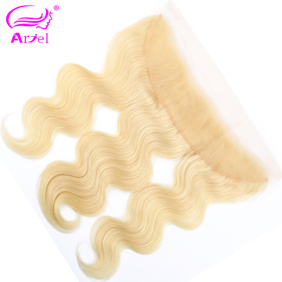 Body Wave Frontal 613 Frontal Closure Lace Frontal Closure Indian Blonde Frontal 13x4 Remy Hair Ear