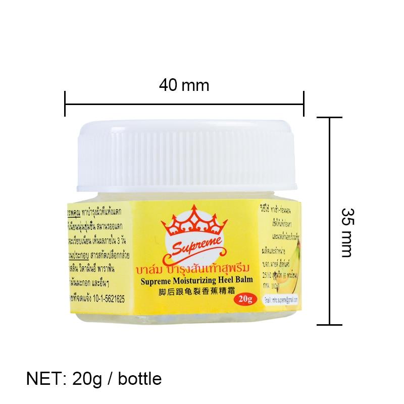 1 Bottle 20g Natural Banana Oil Anti-crack Hand Foot Cream Heel Cracked Anti-Drying Repair Cream Removal Dead Skin Care P0068 6
