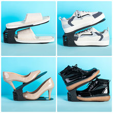 8/10 Pcs étagère à chaussures organisateur réglable rangement chaussures Support étagère Support fente gain de place armoire placard pour chaussures