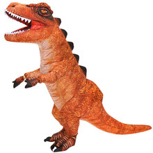 Purim Carnival Adult Inflatable Dinosaur Costume T REX Dino Cosplay Party Costumes for Men Women Halloween Fancy Dress Suit