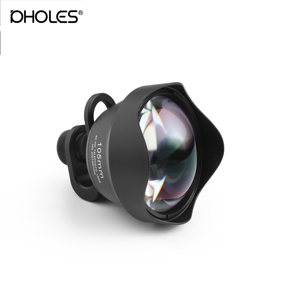 105MM External Lens Pholes Phone portrait lens Mobile phone portrait Professional Photo Camera Lens large aperture for iPhone