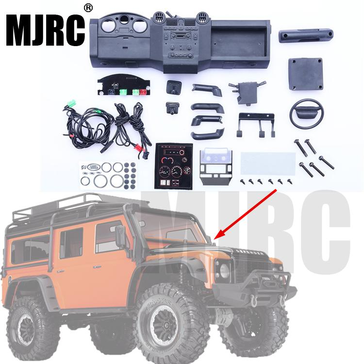 Suitable For 1/10 Simulation Traxxas TRX4 TRX-4 Defender RC Car DIY Simulation Car Interior Kit Simulation Center Console Part