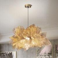 Nordic schlafzimmer lampe romantische warme kreative persönlichkeit licht luxus dekorative stil restaurant beleuchtung kronleuchter