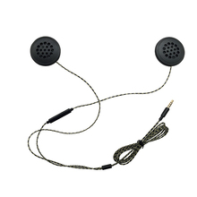 Headphones Music-Helmet Magic-Sticker Motorcycle Cycling Listen Universal Volume-Control