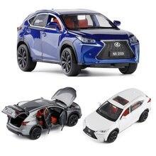 1:32 lexus nx200t modelo de carro liga carro fundido modelo de carro brinquedo do miúdo presentes birthdaychristmas frete grátis